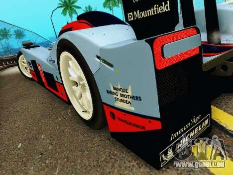 Aston Martin DBR1 Lola 007 für GTA San Andreas Unteransicht