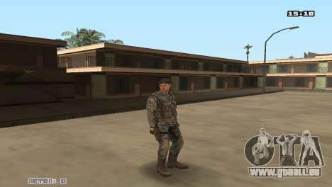 Army Skin Pack pour GTA San Andreas