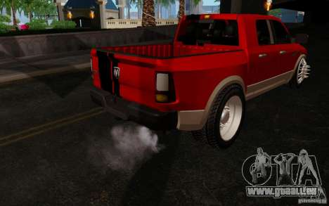 Dodge Ram 3500 Tuning für GTA San Andreas Rückansicht
