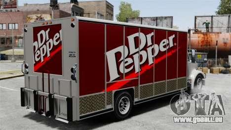 La nouvelle publicité pour camion de Benson pour GTA 4 secondes d'écran