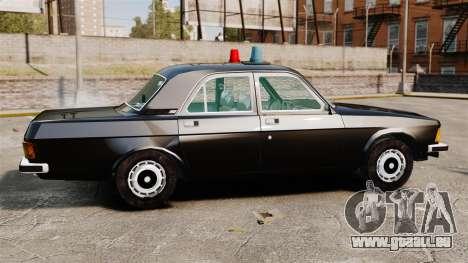 GAZ-3102-FBI für GTA 4 linke Ansicht