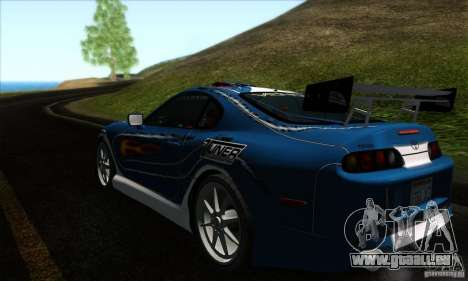 Toyota Supra Tunable pour GTA San Andreas salon