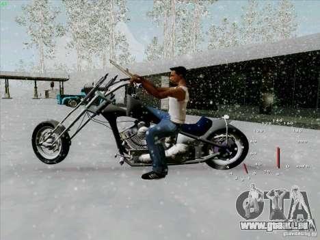 Harley für GTA San Andreas linke Ansicht