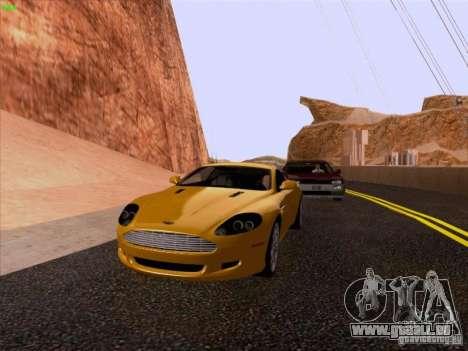 Aston Martin DB9 pour GTA San Andreas vue de droite
