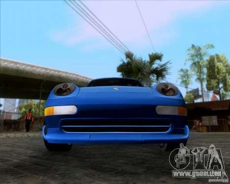 Porsche 911 GT2 RWB Dubai SIG EDTN 1995 für GTA San Andreas zurück linke Ansicht