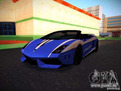 Lamborghini Gallardo LP570-4 Spyder Performante für GTA San Andreas