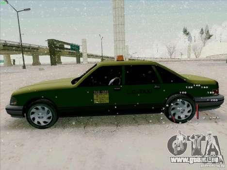 SA Taxi HD de GTA 3 pour GTA San Andreas vue arrière