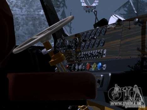RTS 420 Šatalka pour GTA San Andreas vue intérieure