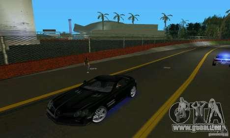 Mercedes-Benz SLR McLaren 722 Black Revel pour GTA Vice City