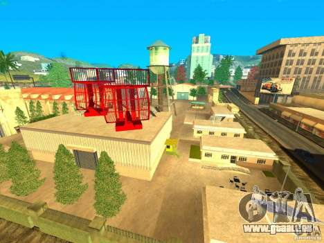 New Studio in LS pour GTA San Andreas deuxième écran