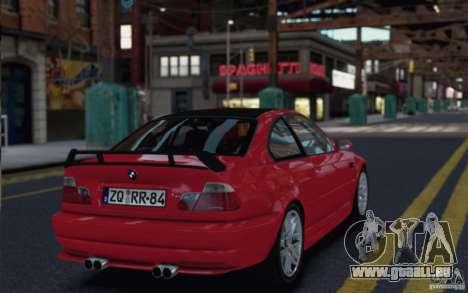 BMW M3 E46 Street Version pour GTA 4 est une gauche