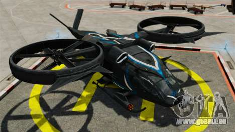 Hubschrauber mit SA-2 Samson für GTA 4 Rückansicht