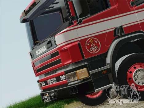 Scania 94D-260 Corpo Bombeiros SP pour GTA San Andreas moteur