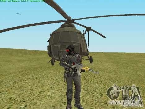 MI-8 MTV pour GTA San Andreas vue intérieure
