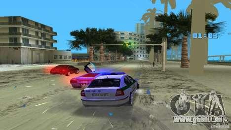 Skoda Octavia 2005 pour GTA Vice City vue latérale