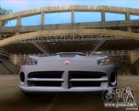 Dodge Viper SRT-10 Coupe für GTA San Andreas rechten Ansicht