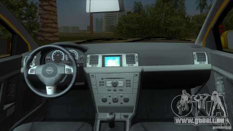 Opel Vectra pour GTA Vice City vue arrière