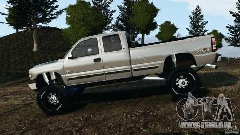 Chevrolet Silverado 2500 Lifted Edition 2000 pour GTA 4 est une gauche
