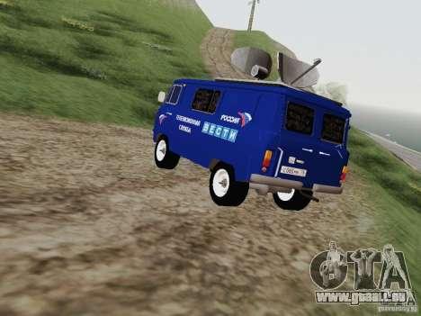 UAZ-3741 für GTA San Andreas zurück linke Ansicht