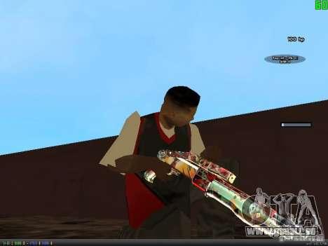 Graffiti Gun Pack pour GTA San Andreas sixième écran