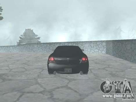 Hyundai Tiburon GT pour GTA San Andreas vue de droite