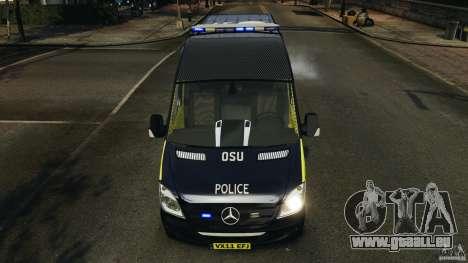Mercedes-Benz Sprinter Police [ELS] für GTA 4 Innen