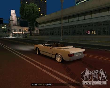 Feltzer v1.0 pour GTA San Andreas vue arrière