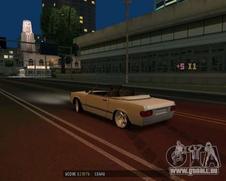 Feltzer v1.0 für GTA San Andreas Rückansicht
