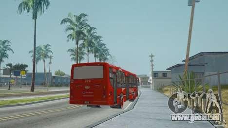 Deutz TATSA Puma D12 36 Grupo Plaza pour GTA San Andreas sur la vue arrière gauche