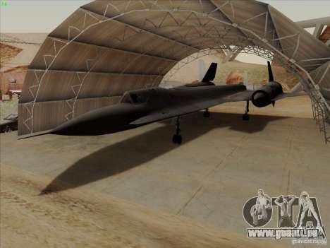 YF-12A pour GTA San Andreas