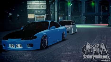 Nissan Silvia S15 JDM pour GTA 4 est un droit