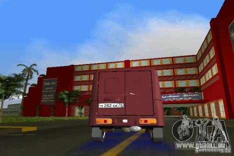 IZH 2715 pour une vue GTA Vice City de l'intérieur