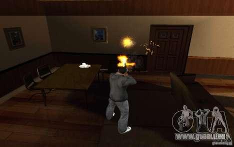 AK-47 par le jeu Left 4 Dead pour GTA San Andreas troisième écran