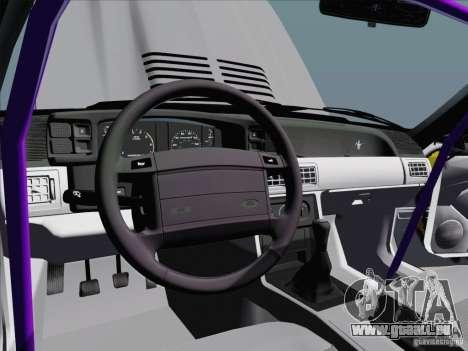 Ford Mustang Drift pour GTA San Andreas vue de côté