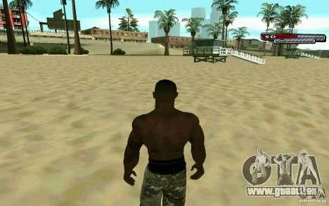 James Woods HD Skin pour GTA San Andreas quatrième écran