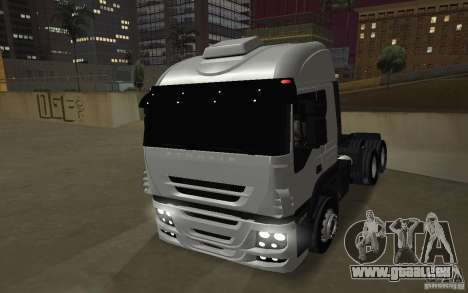 Iveco Stralis Double Trailers pour GTA San Andreas