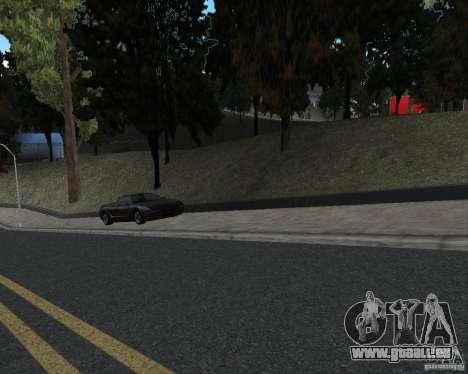 Nouvelles textures route pour GTA UNITED pour GTA San Andreas deuxième écran
