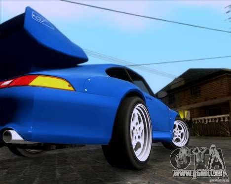 Porsche 911 GT2 RWB Dubai SIG EDTN 1995 pour GTA San Andreas vue de droite
