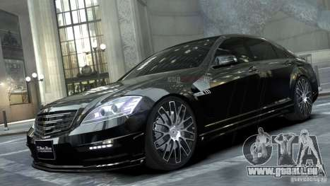 Mercedes-Benz S-Class W221 Black Bison 2009 pour GTA 4