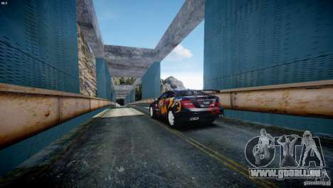 Mercedes Benz C63 AMG SAIBON Paint Job pour GTA 4 est un droit