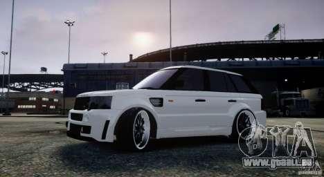 Range Rover Sport RR SCHEARZ pour GTA 4 est une gauche