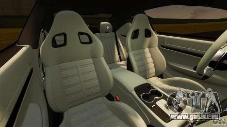 Maserati GT MC Stradale pour GTA 4 est une vue de l'intérieur