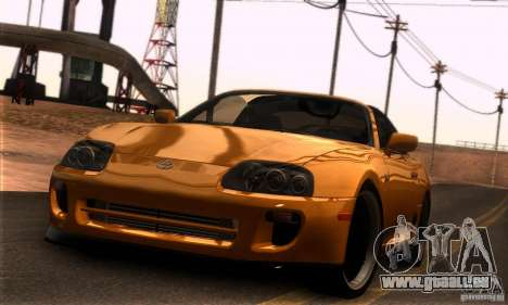 Toyota Supra Targa pour GTA San Andreas laissé vue