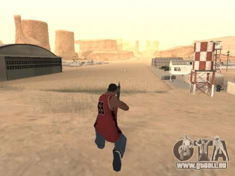 MP5K pour GTA San Andreas quatrième écran