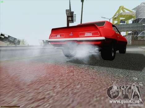 Chevrolet Camaro 1969 für GTA San Andreas Motor