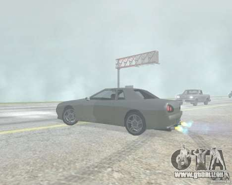 Le flou lorsque l'utilisation de Nitro pour GTA San Andreas quatrième écran