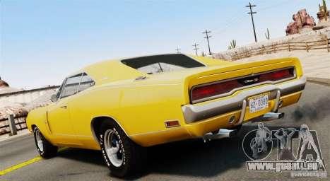 Dodge Charger RT-SE 440 Magnum 1970 EPM v1.1 pour GTA 4 est une gauche