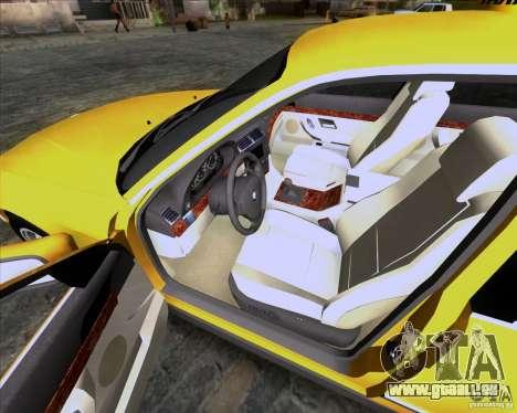 BMW 730i E38 1996 Taxi pour GTA San Andreas vue de côté