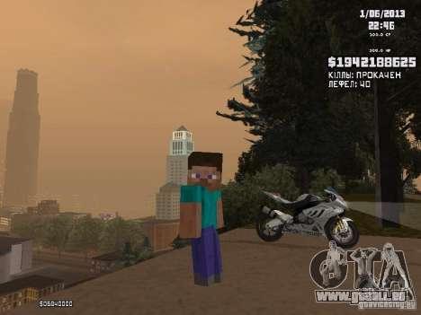 Steve pour GTA San Andreas