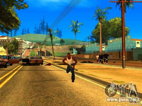 New Animations V1.0 für GTA San Andreas dritten Screenshot